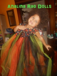 Halloween Tutu Dress Toddler Girls Simplicity 1768 Review