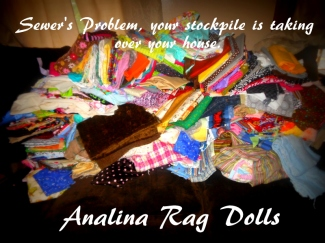 analina rag dolls stock pile problems
