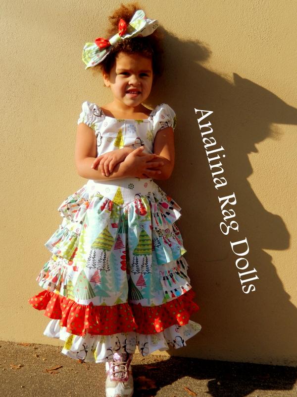 Analina Rag Dolls Sugar Plum Dress