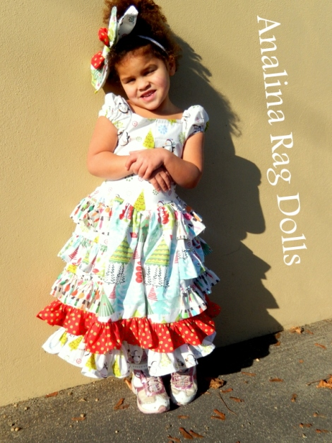 Analina Rag Dolls Sugar Plum Dress