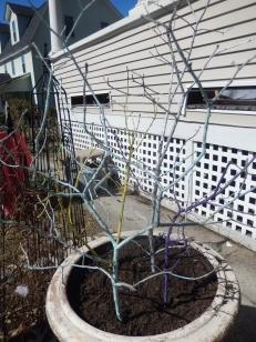 DIY Easter Trees