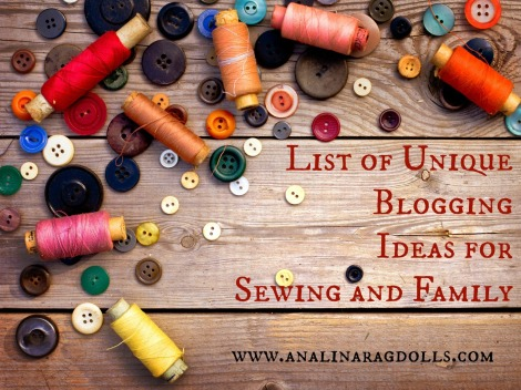 List of Unique Blogging Ideas