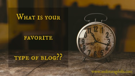 what's your favorite type of blog