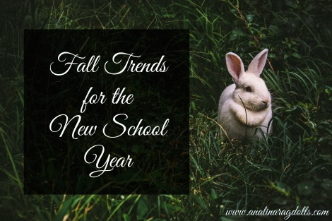 Fall Trends for the New school year