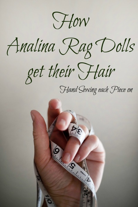 Analina Rag Dolls Hair - How to do
