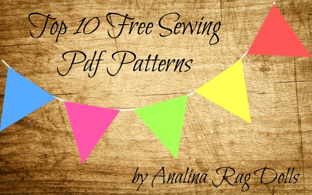 Top 10 Free Sewing PDF Patterns