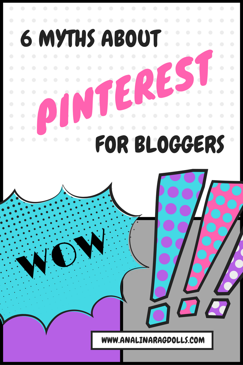 6 myths about pinterest for bloggers.