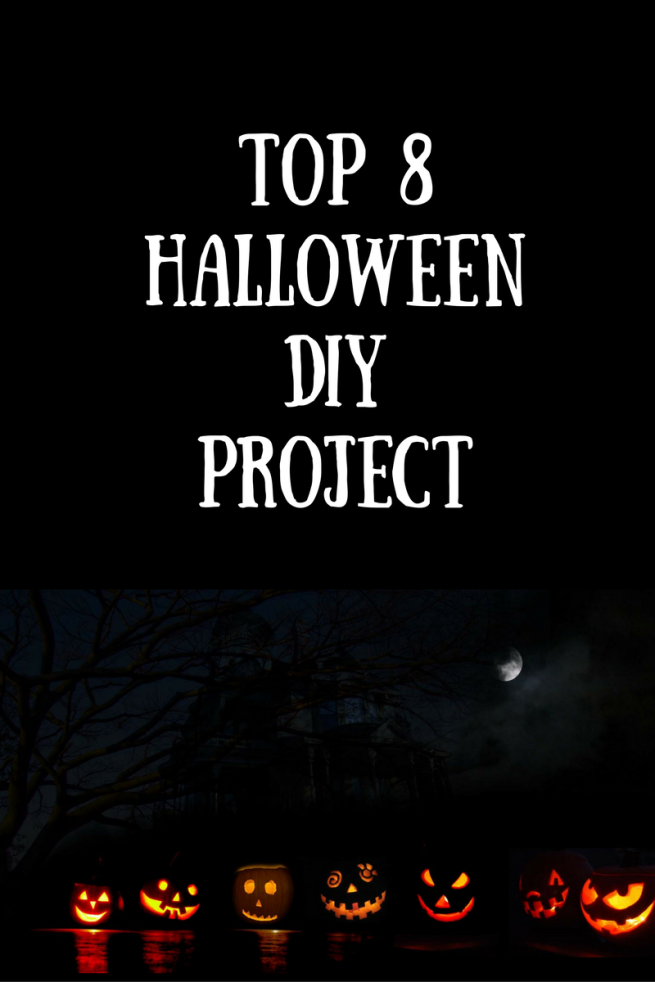 top 8 Halloween DIY projects for Cheap