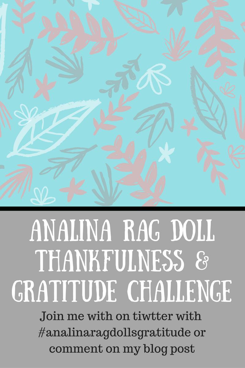 analina rag dolls gratitude challenge