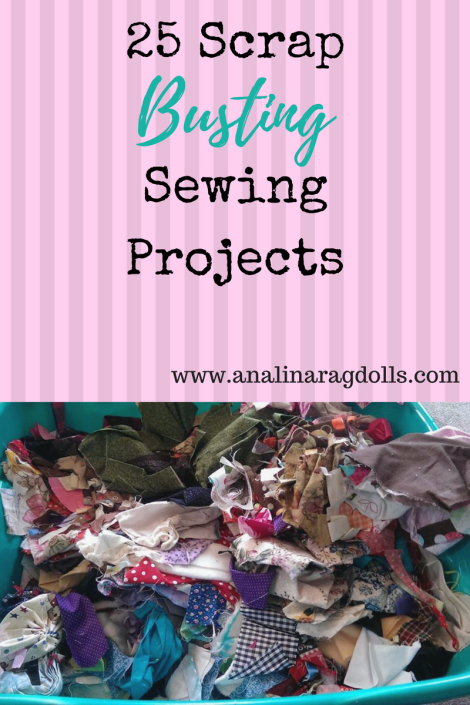 25 scrap busting sewing projects