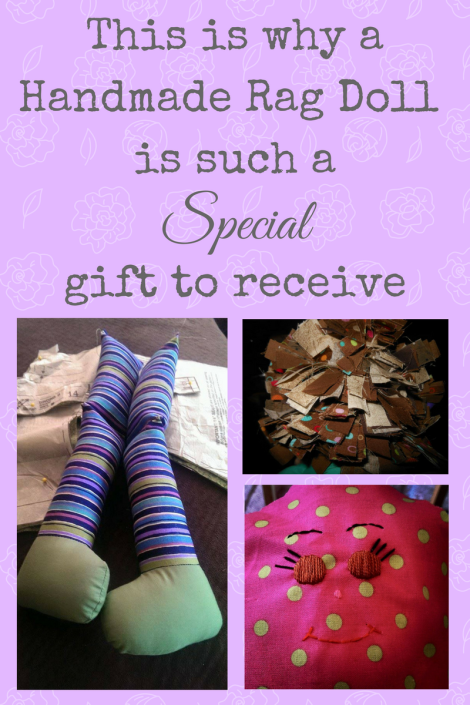 This is why a handmade rag doll is such a special gift to receive.