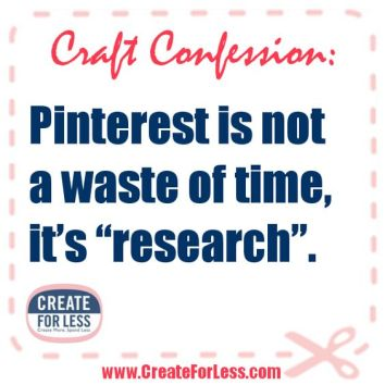 Image result for pinterest is not a waste of time its research