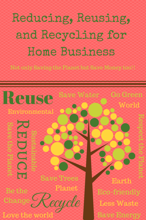 Reducing, Reusing, and Recycling for Home business