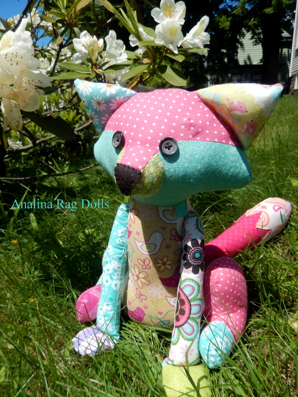 Flashy Patchwork Fox pattern Review