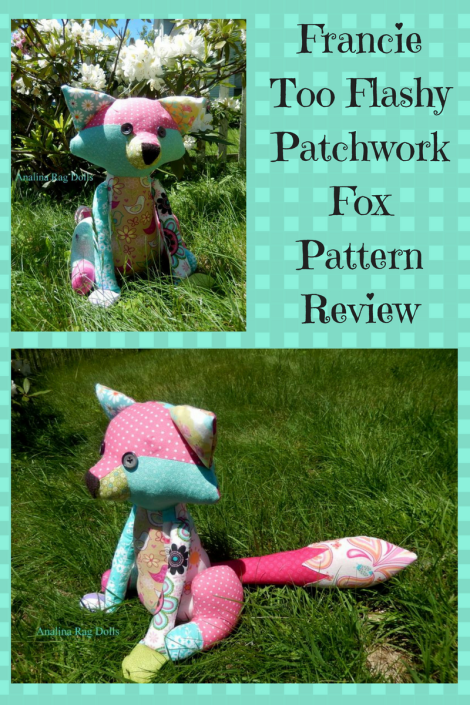 Francie Too Flashy Patchwork Fox Pattern Review