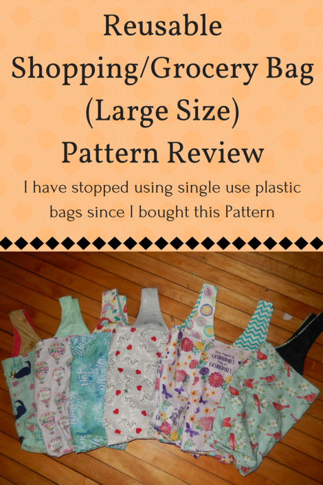 Reusable Shopping/Grocery Bag pattern review