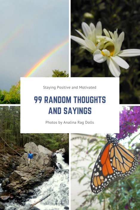 99 random Thoughts and sayings