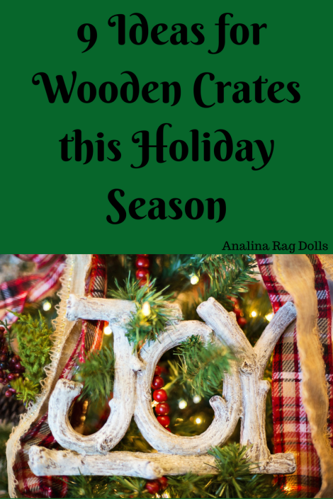 9 Ideas for wooden crates this holiday season