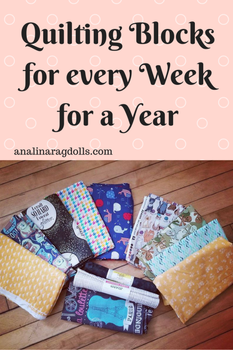 Quilting Blocks for Every Week of a Year