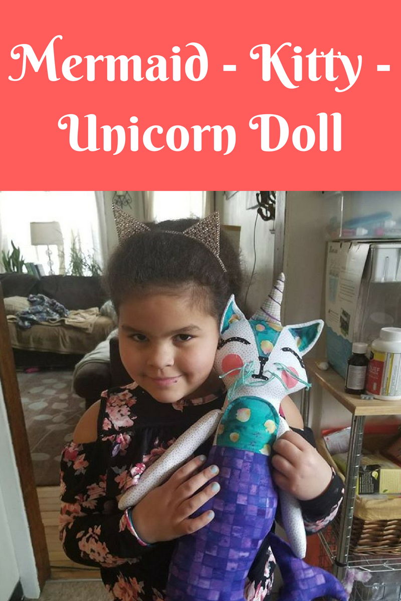 Mermaid - Kitty - Unicorn Doll